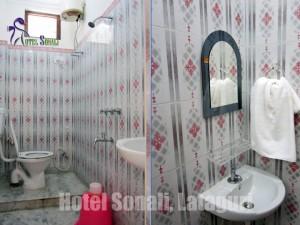 Lataguri Hotel Room - washroom & toilet